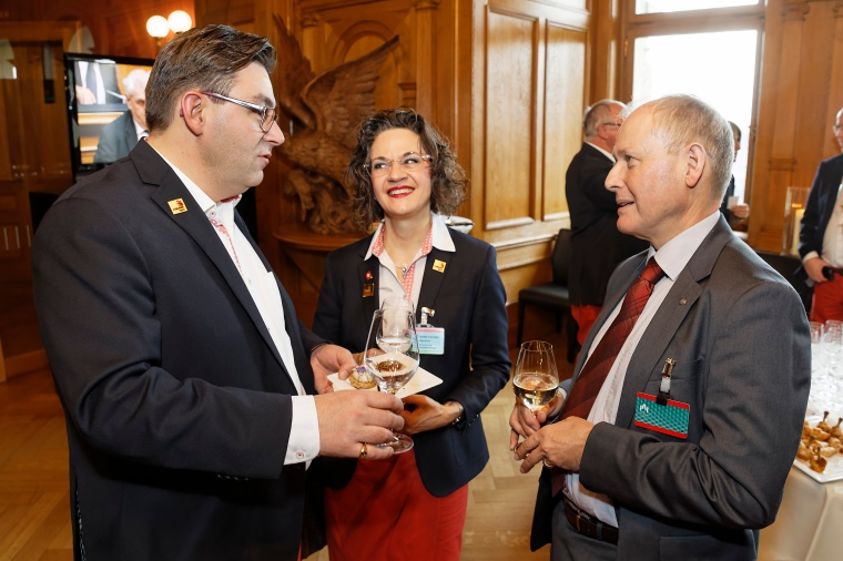 SwissSkills Team im Bundeshaus