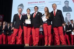 29. August 2019; Kazan; Worldksills Kazan 2019 - Empfang in Zürich nach den Worldskills 2019 (Foto: Michael Zanghellini)